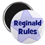 "Reginald Rules 2.25"" Magnet (10 pack)"