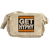 get hyphy lg orange Messenger Bag