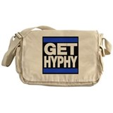 get hyphy lg blue Messenger Bag