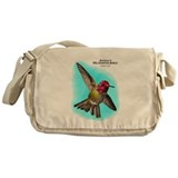 Anna;s Hummingbird Messenger Bag