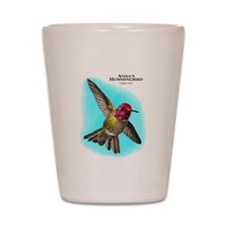 Anna;s Hummingbird Shot Glass