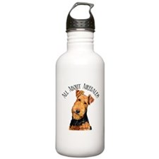 All About Airedales Water Bottle