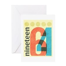 Nineteen 64 Greeting Card