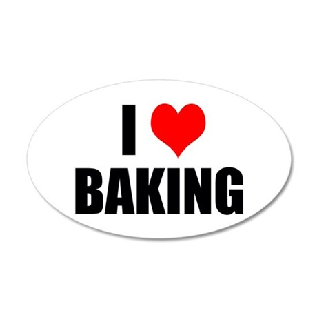 I Love Baking Wall Decal