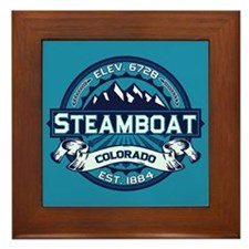 Steamboat Ice Framed Tile