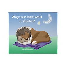 Wee Shepherd Throw Blanket