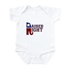 Raised Right Body Suit