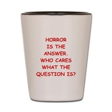 horror Shot Glass