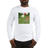 Chow Golfing Long Sleeve T-Shirt