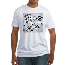 Musical notes - Shirt