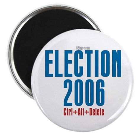 Election 2006 Reboot Magnet