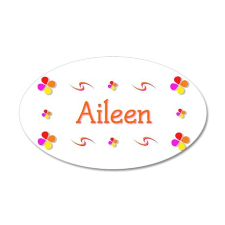 Aileen 1 35x21 Oval Wall Decal