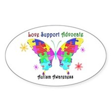 Autism Butterfly Decal