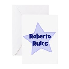 Roberto Rules Greeting Cards (Pk of 10)