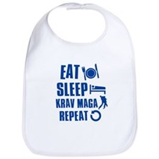 Eat sleep Krav Maga Bib