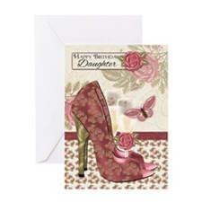 Daughter Champagne And Shoes Butterfly And Rose Bi