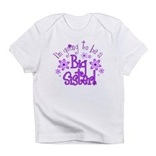 Cute  i'm going to be a big sister Infant T-Shirt