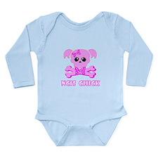 NCIS Chick Long Sleeve Infant Bodysuit