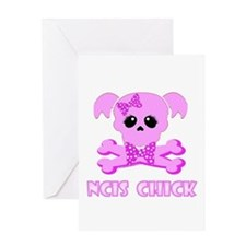 NCIS Chick Greeting Card
