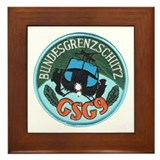 Germany GSG9 Framed Tile