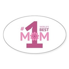 Nr 1 Mom Decal