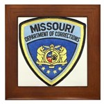 Missouri Prison Framed Tile