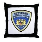 Missouri Prison Throw Pillow