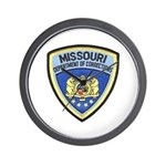 Missouri Prison Wall Clock