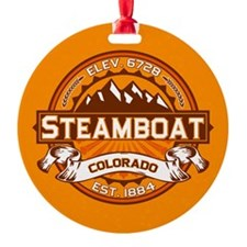 Steamboat Tangerine Ornament