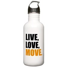 live love move Water Bottle