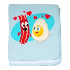 Bacon Love baby blanket