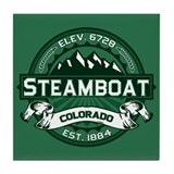 Steamboat Forest Tile Coaster