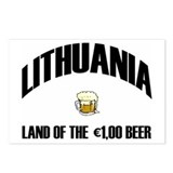 Lithuanian Beer Postcards (Package of 8)
