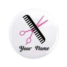 "Personalized Stylist 3.5"" Button"