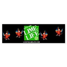 Livin' the Lime Life Logo Bumper Sticker