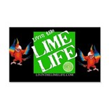 Livin' the Lime Life Logo Wall Sticker
