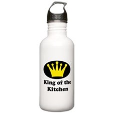 King of the kitchen Water Bottle