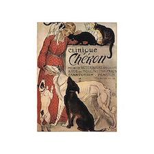 Clinique Cheron, Dogs, Cats, Steinlen, Vintage Pos