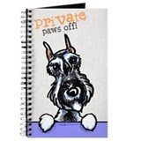 Schnauzer Private PAWS OFF Journal