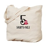 5 Years Old Baby Bird Tote Bag