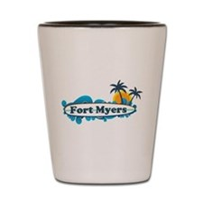 Fort Myers - Surf Design. Shot Glass