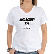 Kick Boxing my therapy Shirt