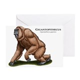 Gigantopithecus Greeting Cards (Pk of 10)