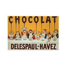 Chocolat, Delespaul-Havez, Vintage Poster Rectangl