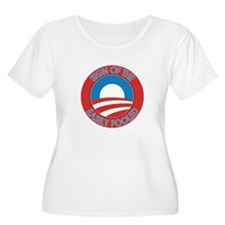 Sign of the Easily Fooled Plus Size T-Shirt
