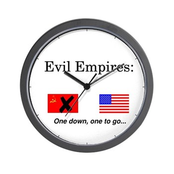 Evil Empires Wall Clock