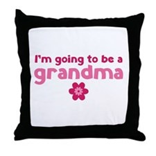 I'm going to be a grandma Throw Pillow