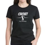 Cricket my therapy Tee
