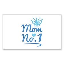 Mom No. 1 Decal