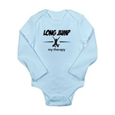 Long Jump my therapy Long Sleeve Infant Bodysuit